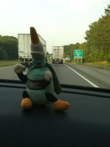 EneMan cruisin' down I-20